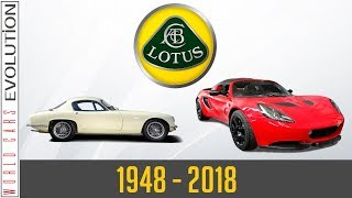W.C.E - Lotus Evolution (1948-2018)