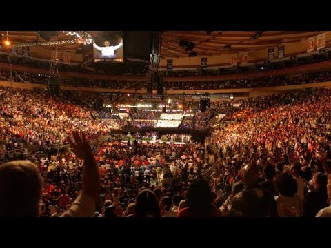Benny Hinn At Madison Square Garden