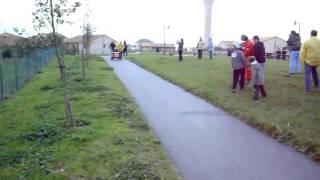 Course de baignoire Téléthon 2009 à Saint Georges les Baillargeaux (86)