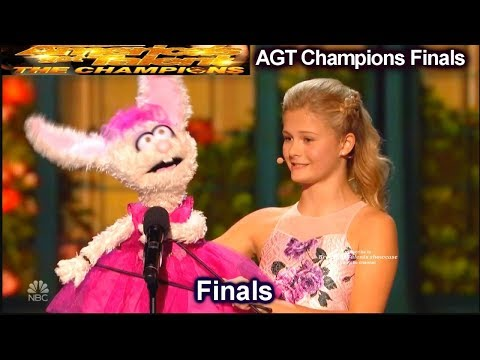 "Darci Lynne  Italian Opera ""O Mio Babbino Caro"" AMAZING | Americas Got Talent Champions Finals AGT"