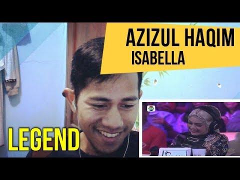 DAA 3   AZIZUL HAQIM MALAYSIA   ISABELLA  || MV REACTION #64