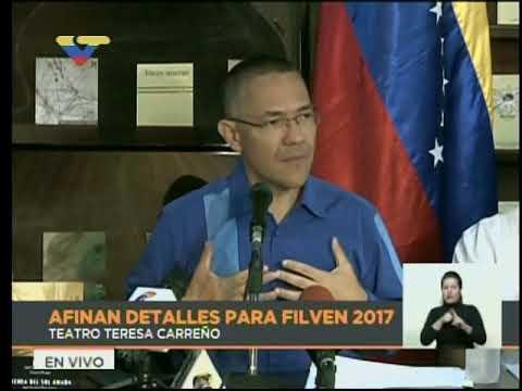 Ernesto Villegas: Con el bloqueo pretendían evitar la realización de la Filven 2017