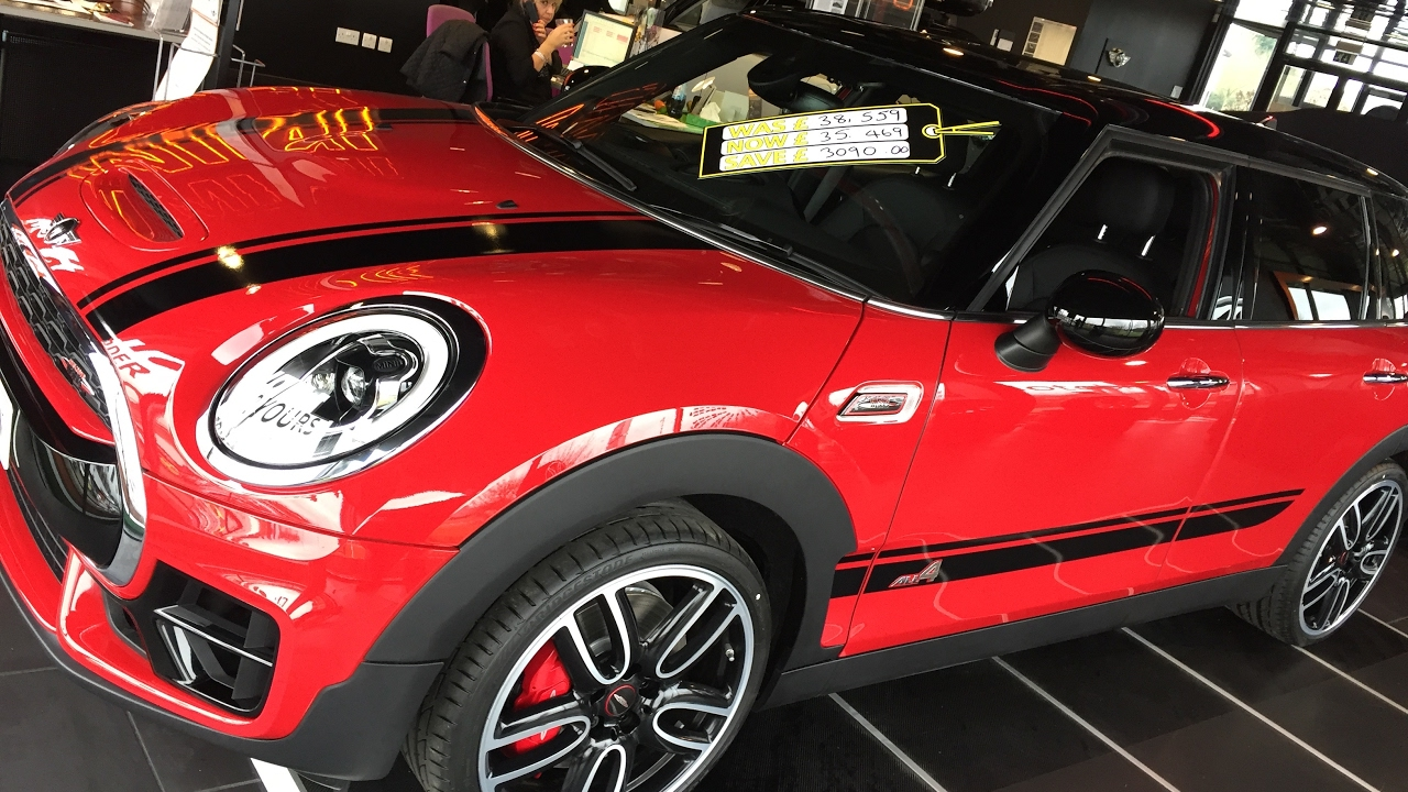 2017 Mini Clubman S John Cooper Works 228bhp Exterior And Interior