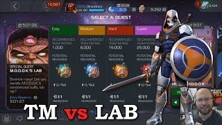 Taskmaster vs MODOKs LAB | Marvel Contest of Champions
