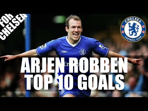 Arjen Robben Top 10 Goals For Chelsea HD