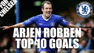 Arjen Robben Top 10 Goals For Chelsea HD