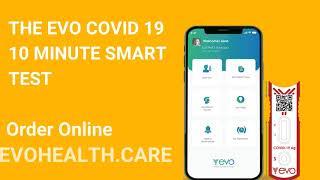 EVO COVID-19 Smart Antigen Test 30 Sec Ad