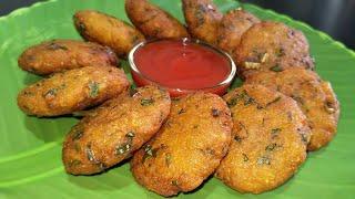 Palak Poha Cutlet | पोहा पालक कटलेट्स । Poha Spinach Cutlets Recipe | ASHA CHI RASOI