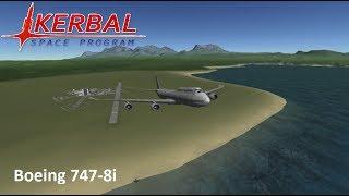 Boeing 747-8i speedbuild | Kerbal Space Program