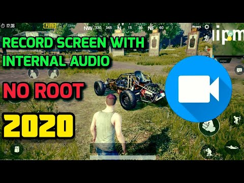 Record Screen With Internal Audio Android | No Root | 2018
