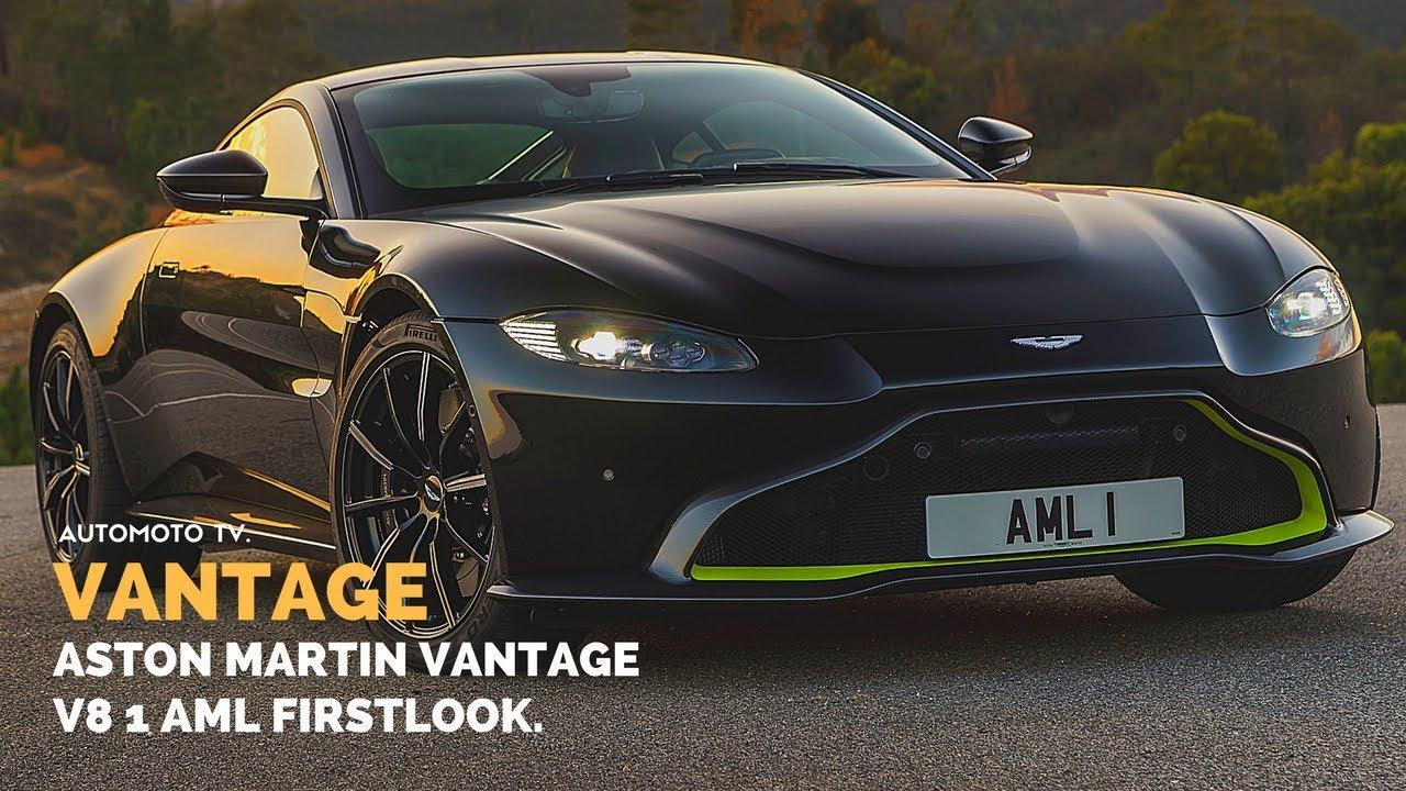 2019 Aston Martin V8 Vantage Aml 1 Onyx Black Testdrive Design Impressions Youtube