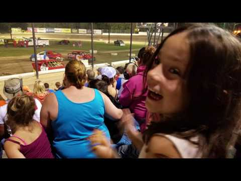 Brewerton Speedway youth demolition derby 7-21-17