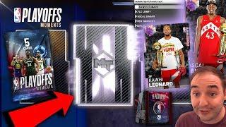 NBA 2K19 My Team FIVE GALAXY OPALS IN NBA FINAL CHAMPION PACKS! OMG IS IT KAWHI?!?!