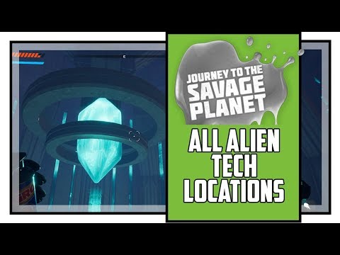 Journey to the Savage Planet All Alien Tech Locations