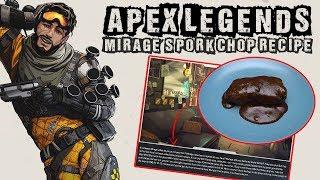 Apex Legends - Mirage's Pork Chop Recipe, is it edible?