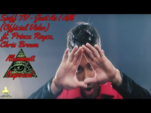 Spiff TV - Just As I Am (Official Video) ft. Prince Royce, Chris Brown Illuminati Exposed