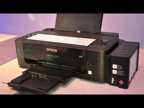 Epson Printer Not Printing Black Color - Epson l210  l110  l220 and other  similar printers