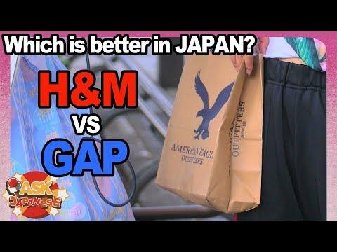 SWEDEN Vs AMERICA|H&M Vs GAP| What Fashion Brand Japanese Girls And Boys Love