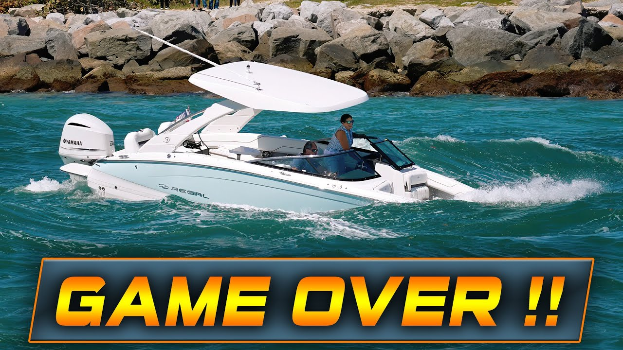 THIS IS HOW YOU SINK YOUR BOAT!   HAULOVER INLET   HAULOVER BOATS   WAVY BOATS