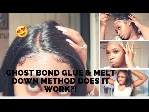 TRYING GHOSTBOND GLUE & MELT DOWN METHOD ! DOES IT WORK?