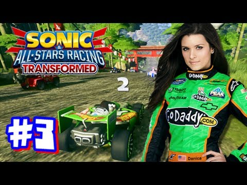 Sonic & All Stars Racing Transformed Wii U - World Tour - Part 3