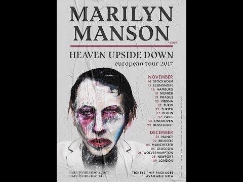 Marilyn manson tour dates in Melbourne
