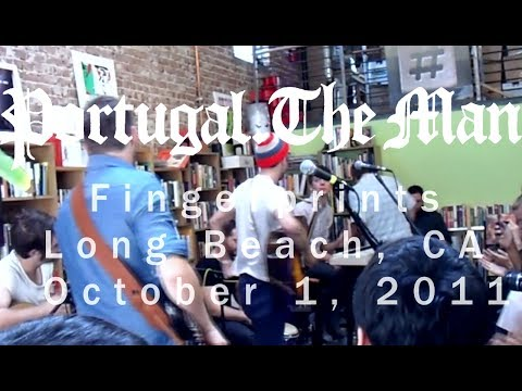 Portugal the Man FULL CONCERT VIDEO acoustic-  Fingerprints - Long Beach, CA - Oct 1, 2011