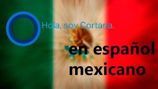 Como tener cortana en español mexico