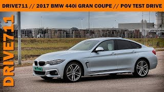 BMW 440i Gran Coupe 2017 // pov test drive & in depth review