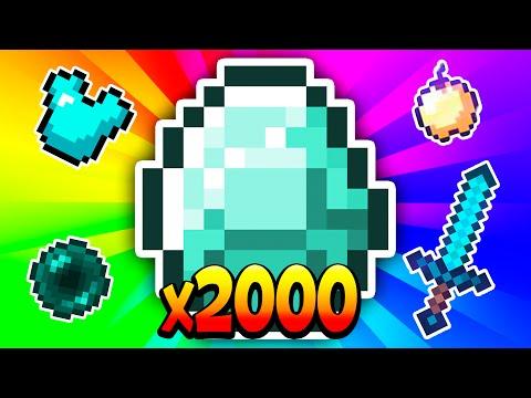 ¡IMPOSIBLE MORIR! 2000 DIAMANTES EN EGGWARS - Minecraft Eggwars