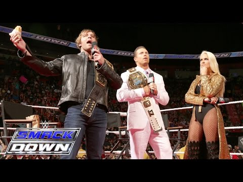 """Miz TV"" with special guest WWE Champion Dean Ambrose: SmackDown, June 30, 2016"