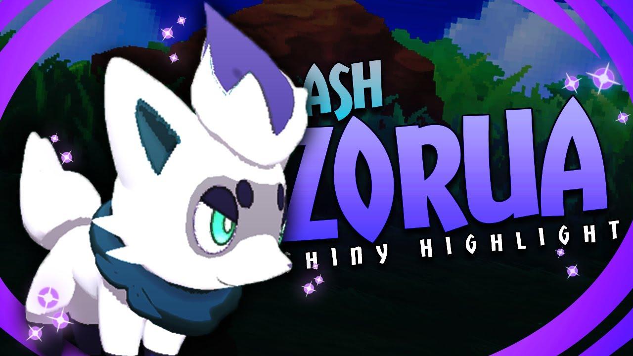 Shiny Zorua And Zoroark