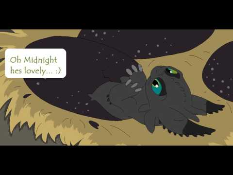 How to train your dragon comic/ Toothless new family