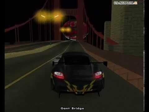 Driving My Porsche 911 In San Fierro!!