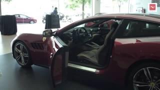 Presentació del Ferrari GTC4 Lusso a Barcelona