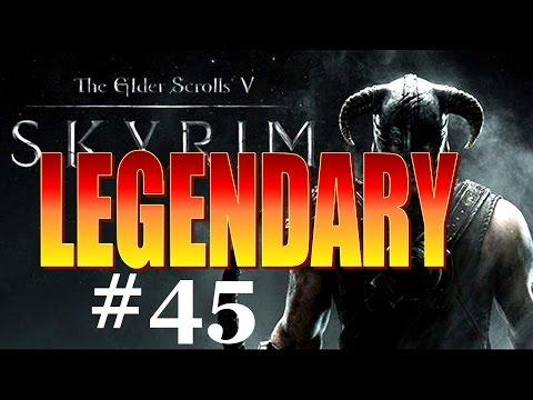 Skyrim Walkthrough Legendary - Part 45 - Halted Stream Camp (All Iron Ore Vein Locations!)