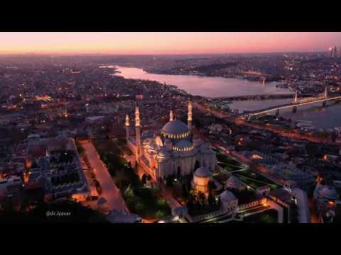 İSTANBUL 4K, Süleymaniye Camii, Harika ezan