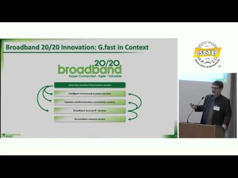 SCTE Broadband Forum - Broadband Services for the 21st Century