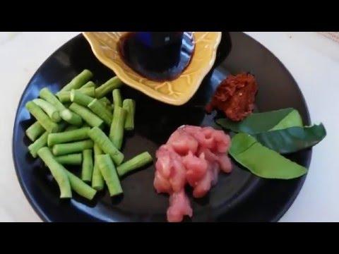 7 การผัดพริกแกงถั่วฝักยาว แฟรนไชส์สเต็กฟรี สเต็กน้าหนู