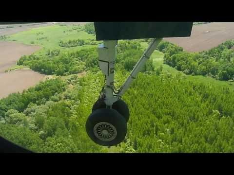 Оха - Хабаровск посадка самолёта
