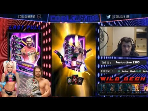 3 PACKS 3 NEONS!!!! + GOOKER FUSION!!  |  WWE Supercard #5 (Season 5)