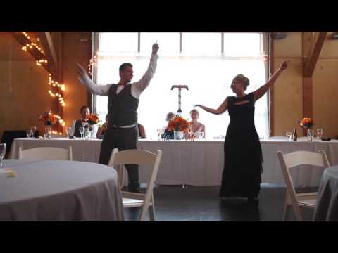 Touching Mother Son Shadow Wedding Dance with Surprise Ending!