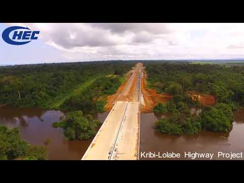 Kribi—Lolabe Highway project