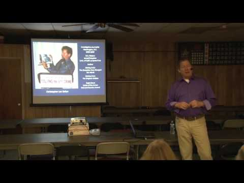 Solving 9 11 2016 with Christopher Bollyn   Hagerstown MD Jan 28, 2016