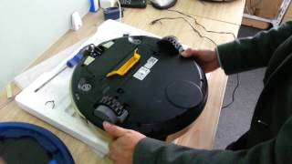 how to change the button for JISIWEI I3 wifi vacuum cleaner?