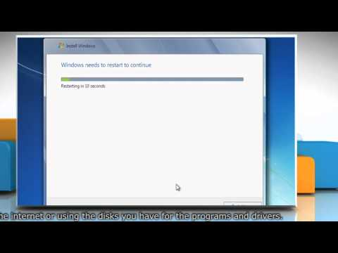 How to Clean Install Windows® 7 on a Blank Hard Drive