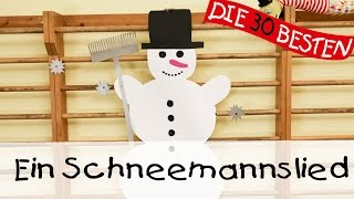 Ein Schneemannslied - Singen, Tanzen und Bewegen || Kinderlieder