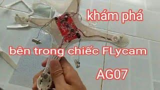 khám phá Bên trong FLycam AG07 có những gì