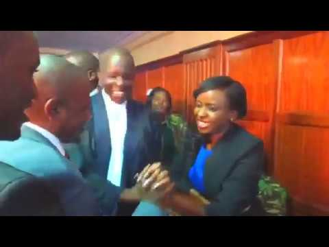 Jacky Maribe And Jowie Emotional Moments In The Court