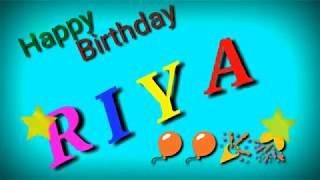 Happy Birthday Riya 🎂 🎊 🎉